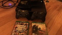 Xbox one 500gb, Kinect, Scuf controller and multiple games