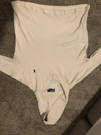 Polo Ralph Lauren long sleeve white Lincoln, 68516