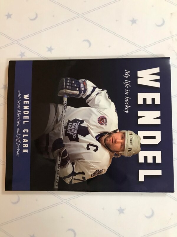 Wendel Clark Book - Brand New Hardcover c16ccc1f-1ef7-48be-8192-35010a001f01