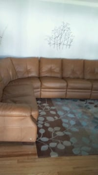 Natuzzi leather recliner sectional North Babylon, 11703