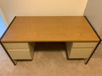 Metal desk. 60W x 30D. Good condition.  Laurel, 20723