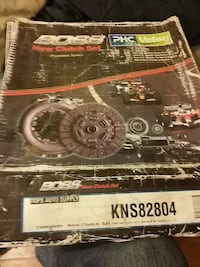 New clutch for 91-01 Nissan altama