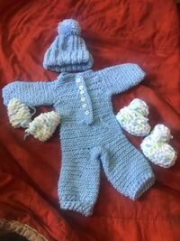 Crochet baby boy set  Linthicum Heights, 21090