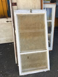 white wooden framed glass window Duncan, V9L