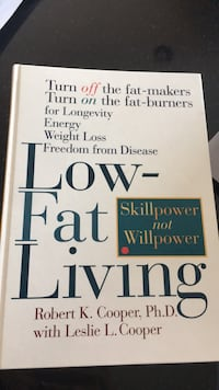 Book: hardcover,  low-fat living Hopewell Junction, 12533