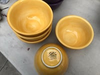 Salute Yellow hand painted collection set of 5 Los Angeles, 90016