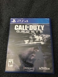 Call of duty Ps4 game Gaithersburg, 20879