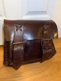 Hand made Leather Book bag Providence, 02903
