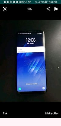black Samsung Galaxy S8 + Greenville, 29611