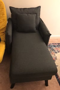 2 Dark Grey chairs/can be sold separately each for 100 Morris Plains, 07950