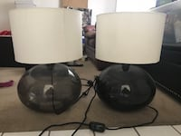 two black and white table lamps Phoenix, 85018