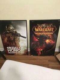 WoW and Medal of Honor wooden posters Houma, 70364