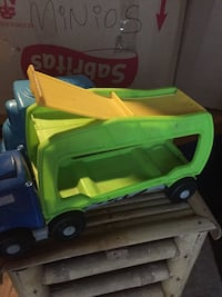 green and yellow plastic toy car Ontario, 91762
