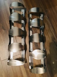2 Stainless Steel Wine Bottle Holders Toronto, M1R 3A6