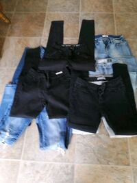 black and plus jeans 5 a piece