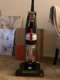 black and red upright vacuum cleaner College Park, 20740
