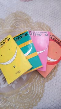 Assassination Classroom Band 1-4 Berlin, 10557