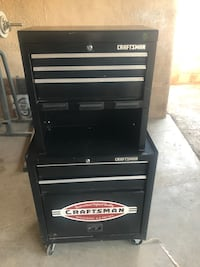 black and gray Craftsman tool chest Inglewood, 90304