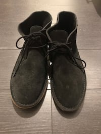 Bronx black suede brand new shoes size 39 Richmond Hill, L4B 3V1