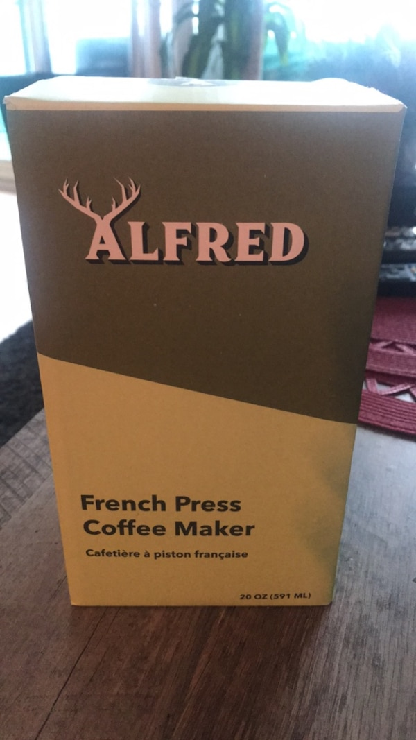 Brand new Alfred French Press Coffee Maker