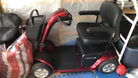 Pride scooter with mini basket and battery operated Brampton, L6T 2Z2