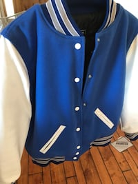 Brand new!!! Blue and white letterman jacket San Diego, 92128