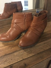 American Eagle brown ankle booties women's 9.5 Virginia Beach, 23453