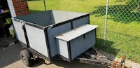 gray and black utility trailer Welland, L3C 2H1