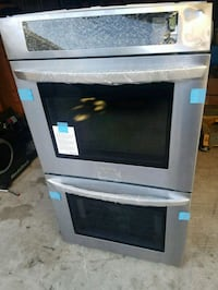 Brand new stainless LG dbl oven and microwave oven Ferndale, 48220