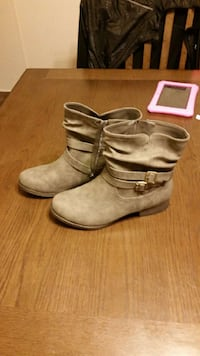 beige suede ankle boots Sidney, 45365