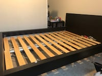 black and brown wooden bed frame Hillsboro, 97124
