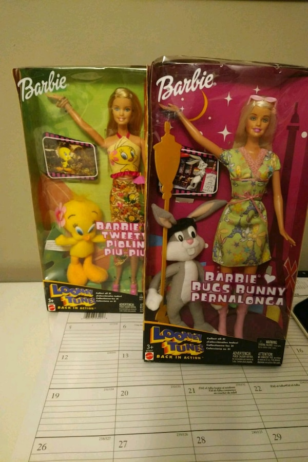 Loonie Tunes/Barbie 20 each