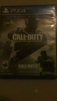 Call of Duty Infinite Warfare PS4 game case Indian River, K0L 2B0