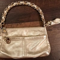 B. Makowsky Gold and Gold Chain bag Franklin, 37067