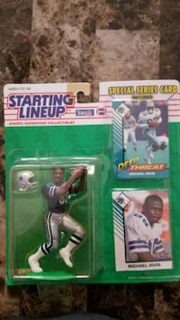 1993 Michael Irvin Starting Lineup  San Angelo, 76904