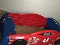 Red and black car bed frame Bakersfield, 93306