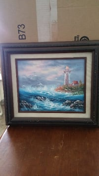 Small painting of Lighthouse Glen Allen
