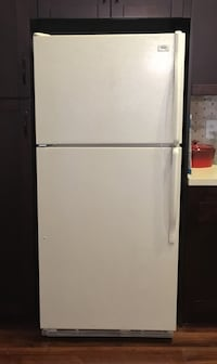 White 30inch fridge
