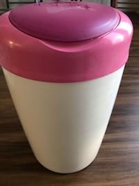 white and pink plastic pitcher 46 km