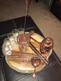 Viski Copper Barware Set Alexandria, 22311