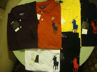 BRAND NEW RALPH LAUREN POLOS WITH TAG  Mississauga, L5M 7A7