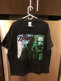 Vintage Rob Zombie heavy metal tour shirt 2290 mi