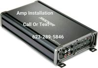 Car/Auto Amplifier Amp Subwoofer Installation Glendale