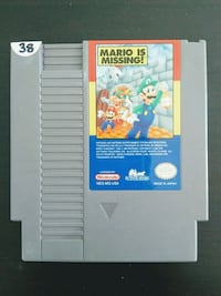 Mario is missing for Nintendo NES  Vaughan, L4L