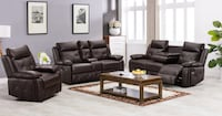 Melody 3pc Reclining Living Room Set