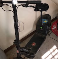 Black and gray electric moped Chesapeake, 23322
