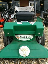 Billy Goat self propelled vacuum/chipper 68 km
