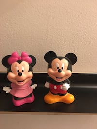 Mickey & Minnie Mouse Piggy Banks