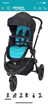 baby's black and blue stroller Faribault, 55021