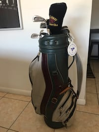 Call away Golf clubs and leather bag Miami, 33176